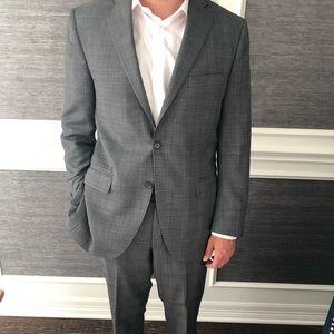 Peter Millar Suits & Blazers - Peter Millar Gray glen plaid suit 40R